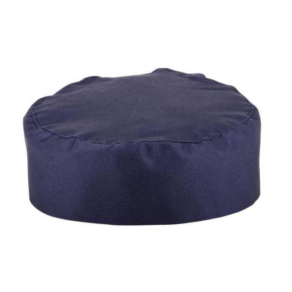 Skull Cap Blue Polycotton - One Size-0