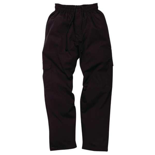Chef Works J54 Cargo Pant Black (CPBL) - Size S (B2B)-0