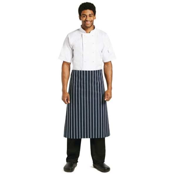 "Butchers Stripe Apron - 760x920mm 30x36""-0"