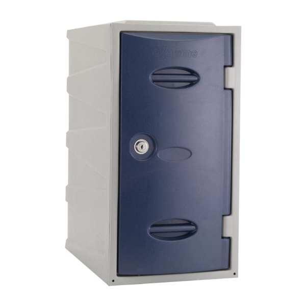 Extreme Modular Plastic Locker - 600mm high Blue Camlock (Direct)-0