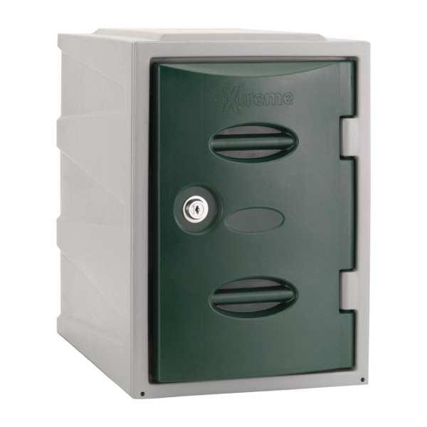 Extreme Modular Plastic Locker - 450mm high Green Camlock (Direct)-0
