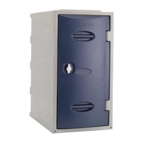 Extreme Modular Plastic Locker - 600mm high Blue Hasp & Staple Lock (Direct)-0