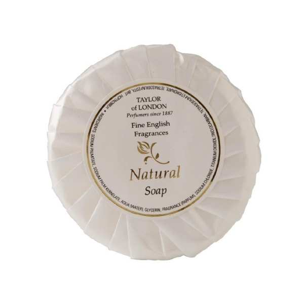 Natural Tissue Pleat Soap - 25g (Pack 100)