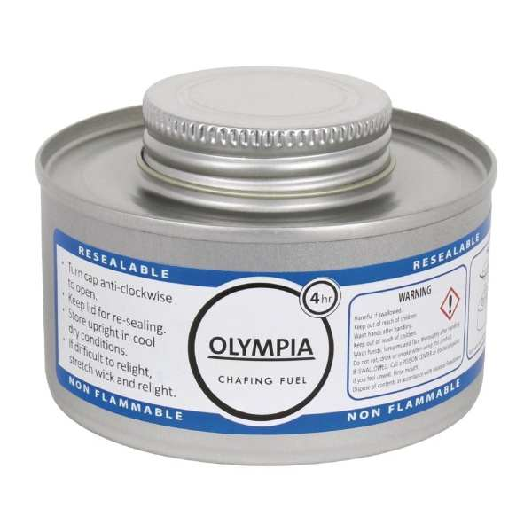 Olympia Chafing Liquid Fuel 4 Hour (Pack 12)-0