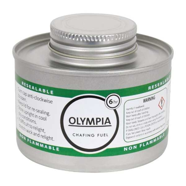 Olympia Chafing Liquid Fuel 6 Hour (Pack 12)-0