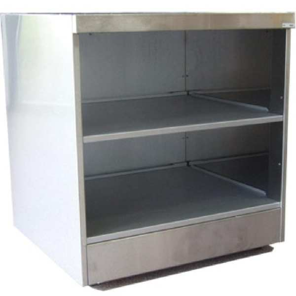 Falcon Pro-Lite Open Shelf Unit with Back Panel - 600mm (Direct)-0