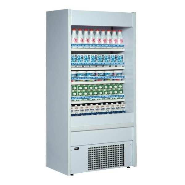 Mondial Elite MultiDeck Slim Tiered Display White - 970mm Wide (Direct)-0