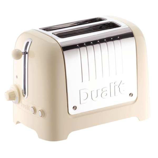 Dualit Lite Toaster 2 Slice Cream (B2B) (No Commercial Warranty)-0