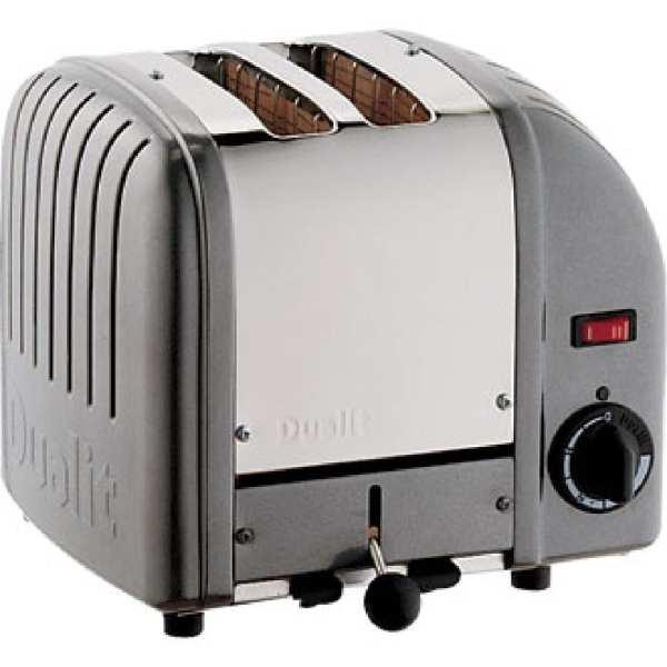 Dualit 2 Slice Vario Toaster Metallic Charcoal-0