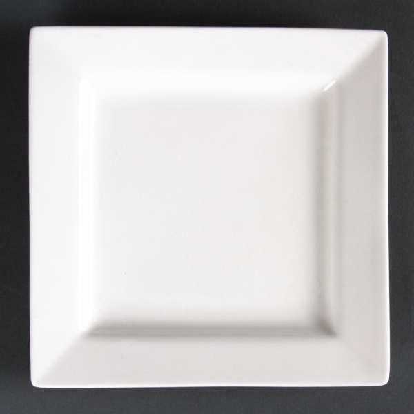 Lumina Fine China Square Plate - 170mm 6 3/4'' (Box 6)-0