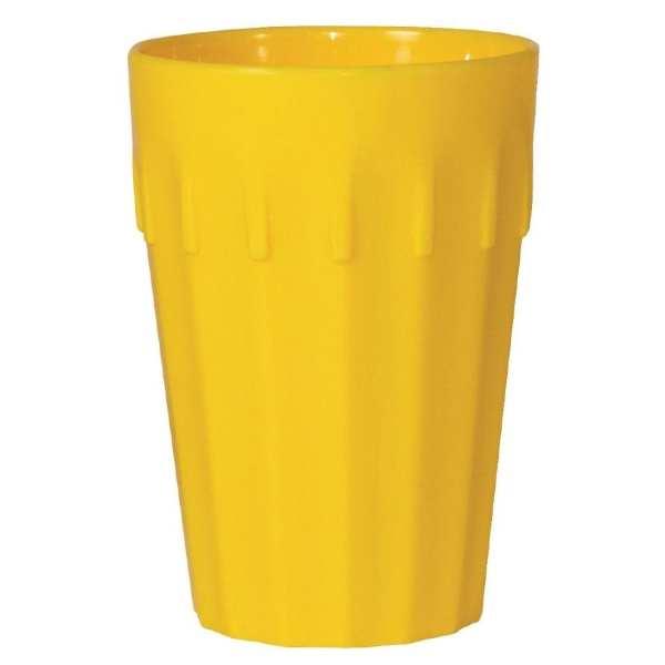 Kristallon Polycarbonate Tumbler Yellow - 142ml 5oz (Box 12)-0