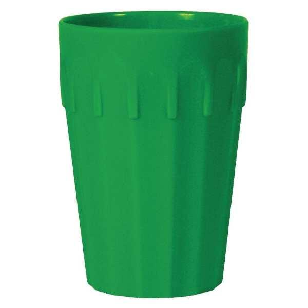 Kristallon Polycarbonate Tumbler Green - 142ml 5oz (Box 12)-0