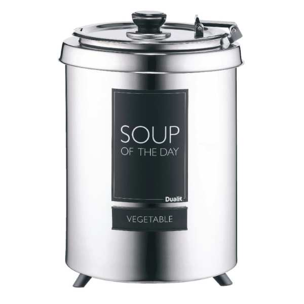 "Dualit ""Straight"" Soup Kettle St/St - 6Ltr-0"