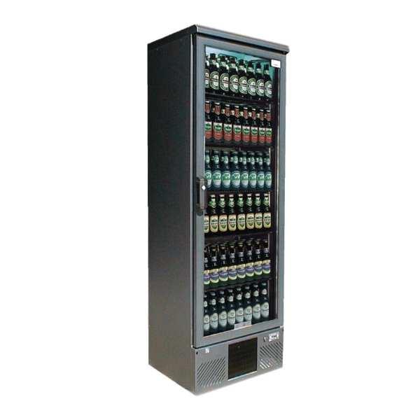 Gamko Upright Bottle Cooler Single Hinged Door Anthracite - 300Ltr (Direct)-0