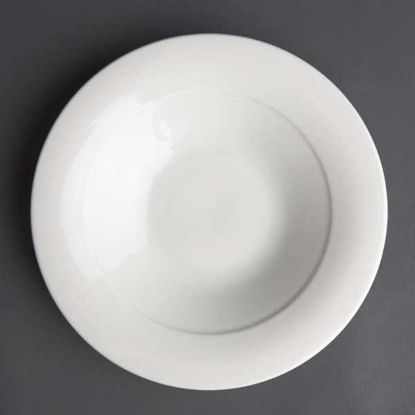 Art de Cuisine Menu Mid Rim Shallow Soup Bowl - 28cl (Box 6)-0