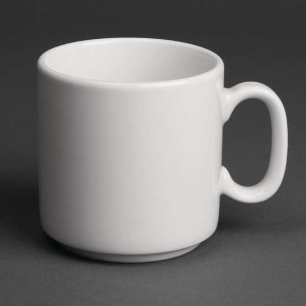 Royal Porcelain Classic Mug White - 11.5oz 330ml (Box 12)-0