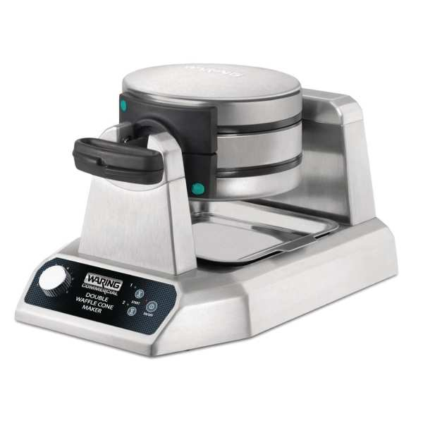 Waring Double Waffle Cone Maker 1.4kW-0