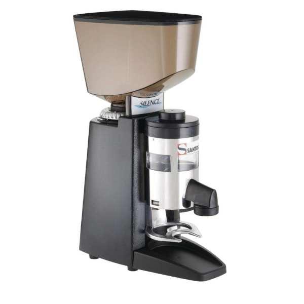 Santos Silent Espresso Coffee Grinder with Dispenser (B2B)-0