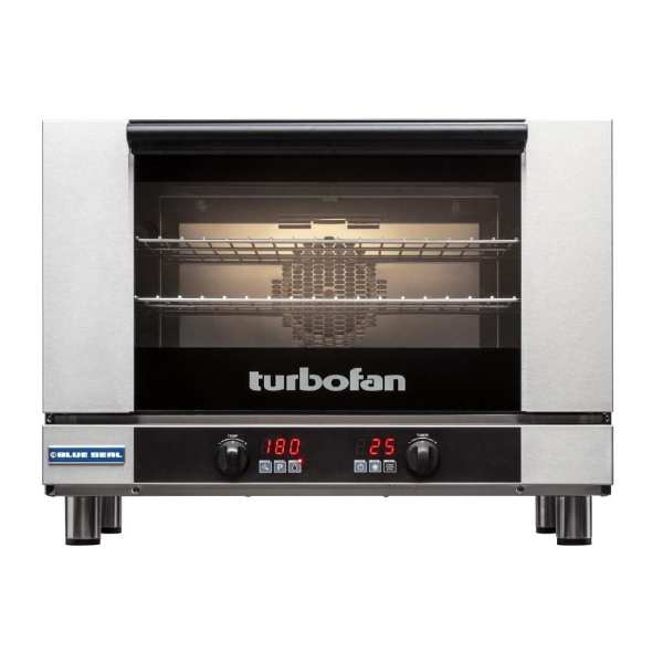 Blue Seal Full Size Digital/Electric Convection Oven 3 x Tray Capacity (Direct)-0