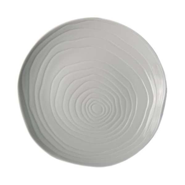 "Pillivuyt Teck Plate 11"" White (Box 3) (B2B)-0"