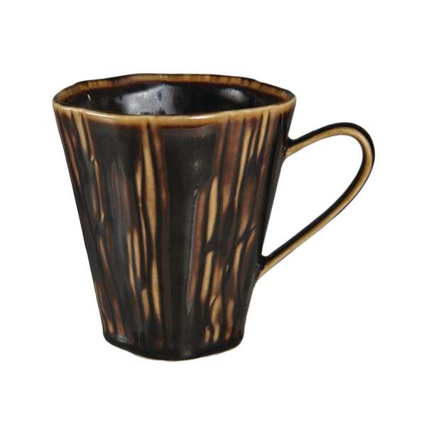 Pillivuyt Teck Mug 300ml Bronze (Box 6) (B2B)-0