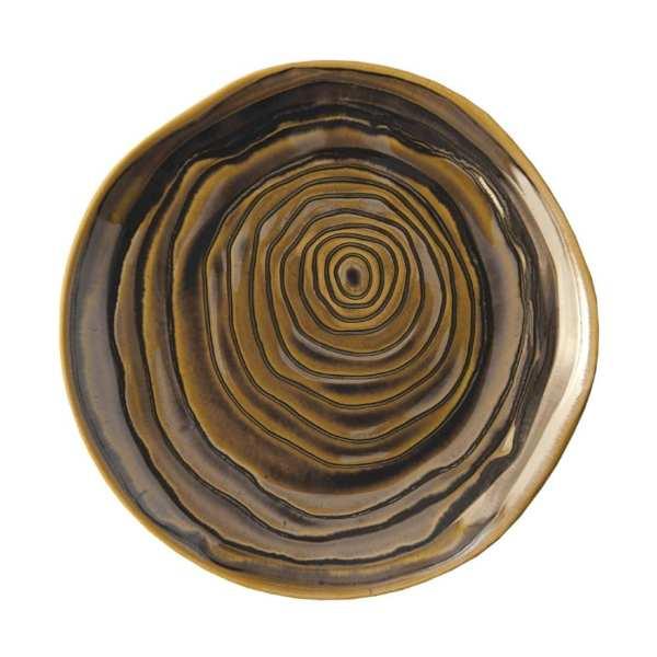 "Pillivuyt Teck Plate 11"" Bronze (Box 3) (B2B)-0"