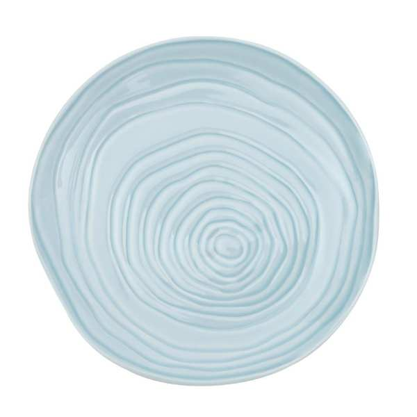 """Pillivuyt Teck Plate 11"""" Light Blue (Box 3) (B2B)-0"""