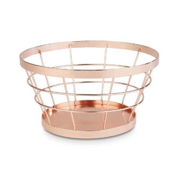 APS+ Metal Basket Copper 210mm d 110mm h (B2B)-0