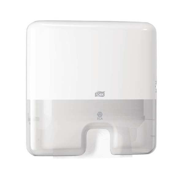 Tork White Multifold Mini Hand Towel Dispenser-0