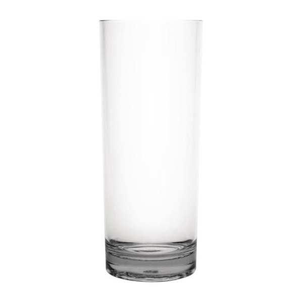 Kristallon Polycarbonate Hiball Tumbler - 360ml 12.75oz Clear (Box 6)-0