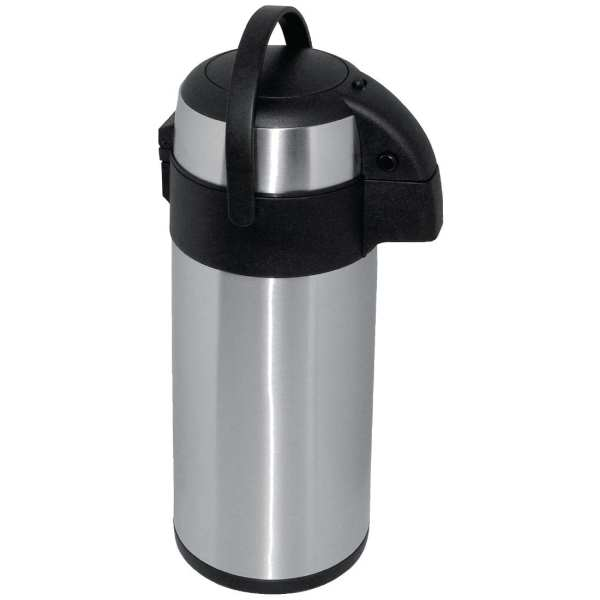 Olympia Pump Action Airpot St/St Double Wall - 5Ltr-0