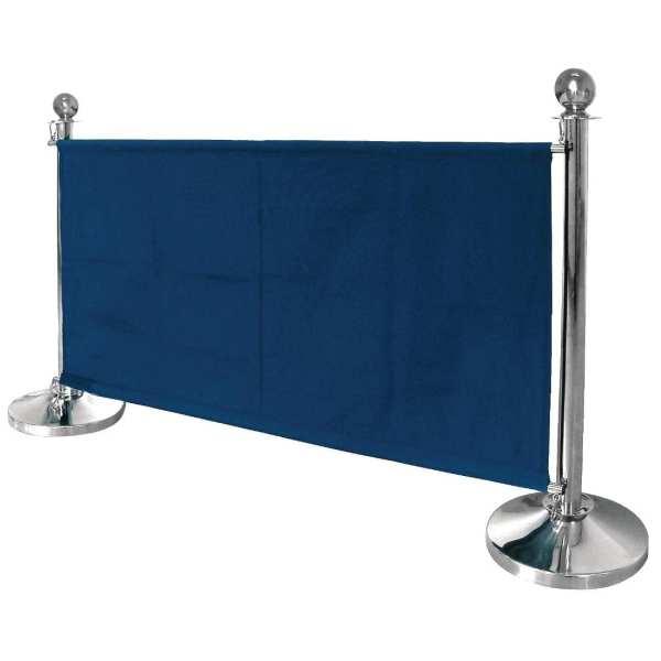 Bolero Dark Blue Banner with St/St Fixings-0