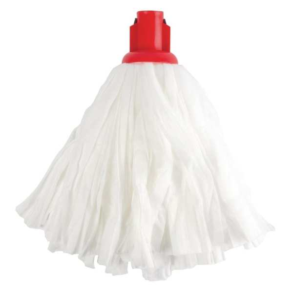 Standard Big White Socket Mop Red - 120g 4.2oz