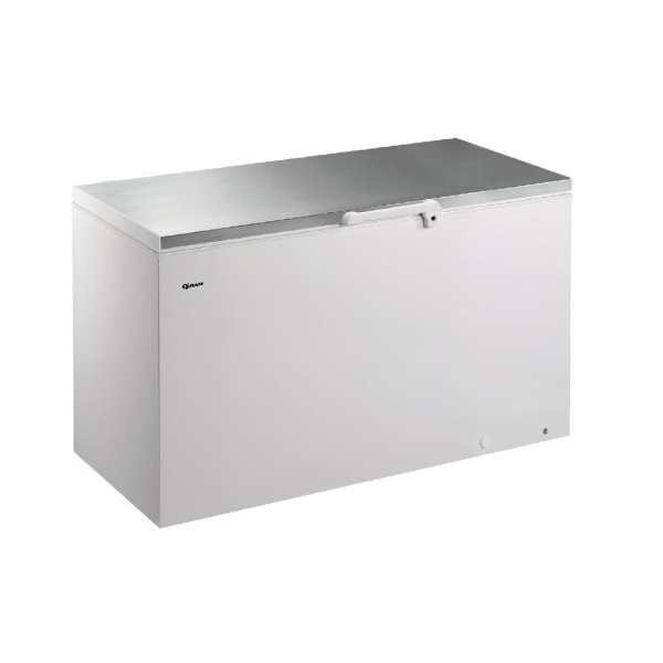 Gram CF 607Ltr Chest Freezer R134a (Whi Ext/St/St Lid/Alu Int) (Direct)-0