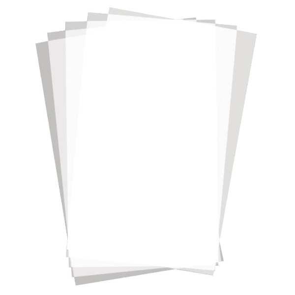 Greaseproof Paper Rectangular Plain - 255x406mm (500 sheets)-0