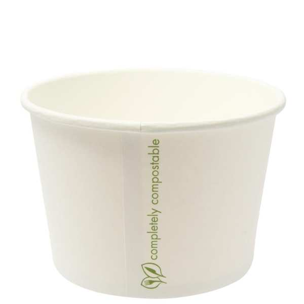 Compostable Soup Container - 16oz (Case 500)-0
