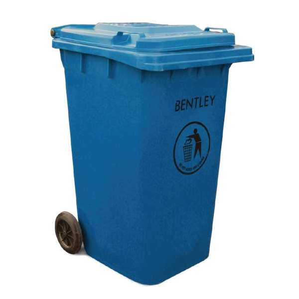 Wheelie Bin Blue - 240Ltr (Direct)-0