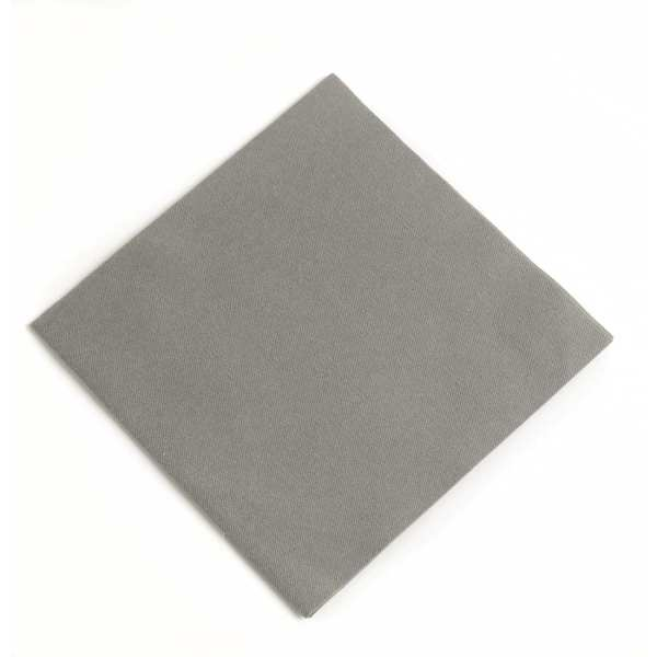 Duni Dunisoft Napkin - 40x40cm Granite Grey (Pack 720)-0