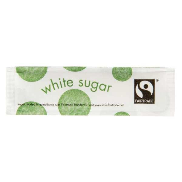 Vegware Fairtade White Sugar Sticks (Box 1000)-0