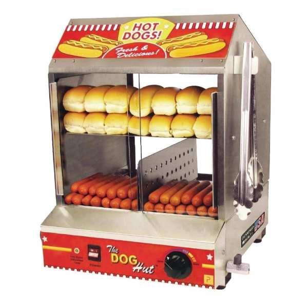 JM Posner Dog Hut Hot Dog Steamer 230V 1200watt (Direct)-0
