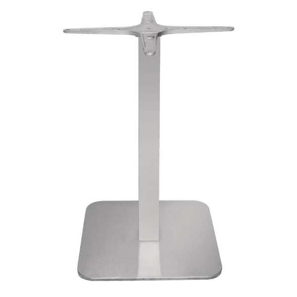 Bolero Stainless Steel Square Table Base-0