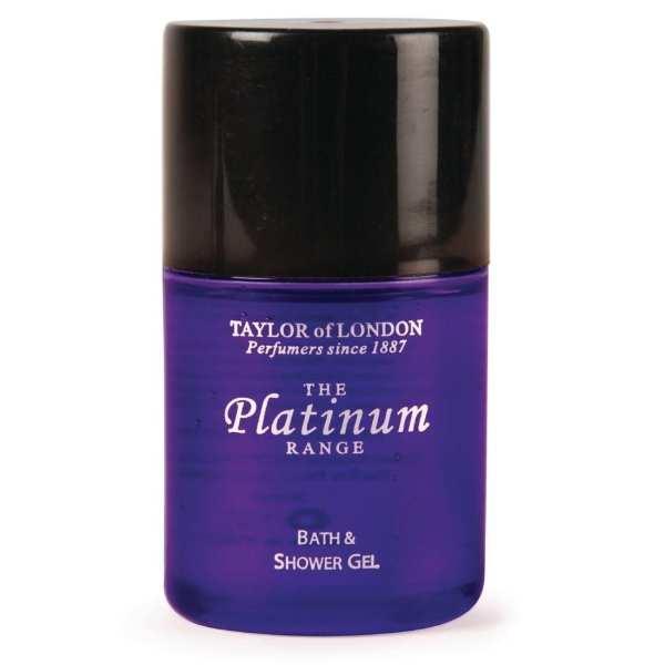 Platinum Range Bath/Shower Gel - 30ml (Pack 50)-0