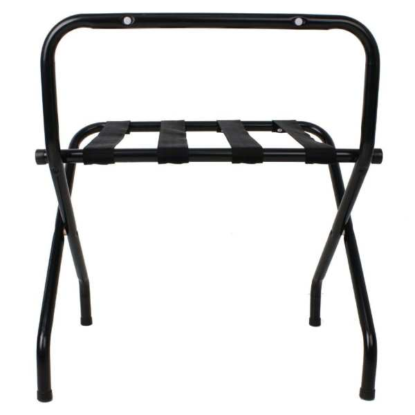 Bolero Black Luggage Rack-0