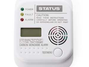 Status Carbon Monoxide Digital Alarm-0