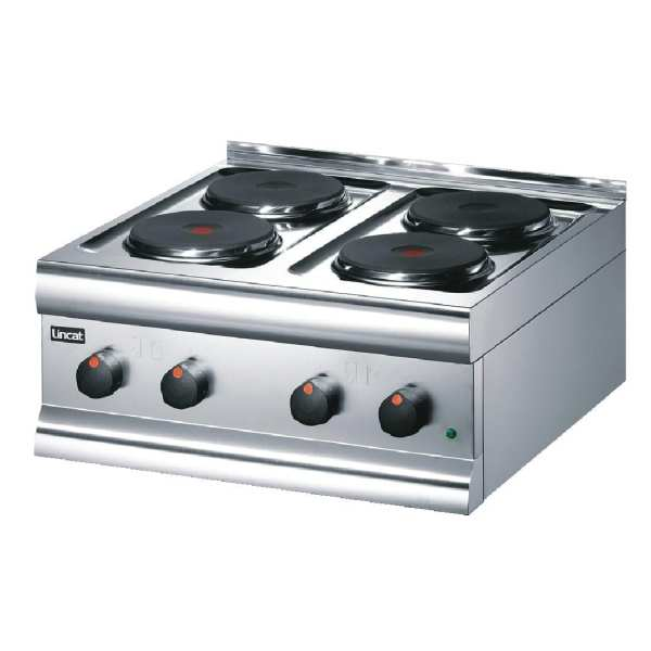 Lincat Boiling Unit 4 Plate HT6 (Plug not Supplied Hard Wired)-0