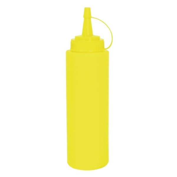 Vogue Squeeze Bottle Yellow - 8oz-0