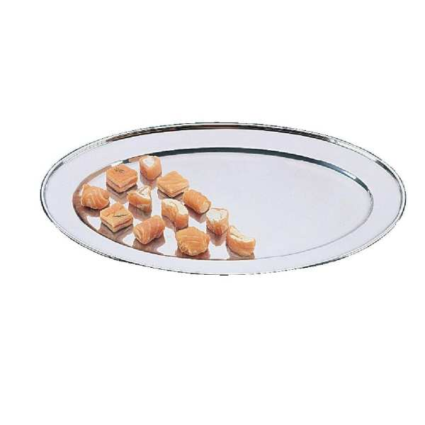 """Olympia Oval Serving Tray St/St - 292mm 11 1/2""""-0"""