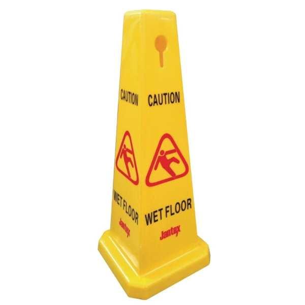 Jantex Warning Cone - Caution Wet Floor-0