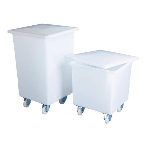 Storage Bin & Lid - Small - 510x460x460mm (Direct)-0