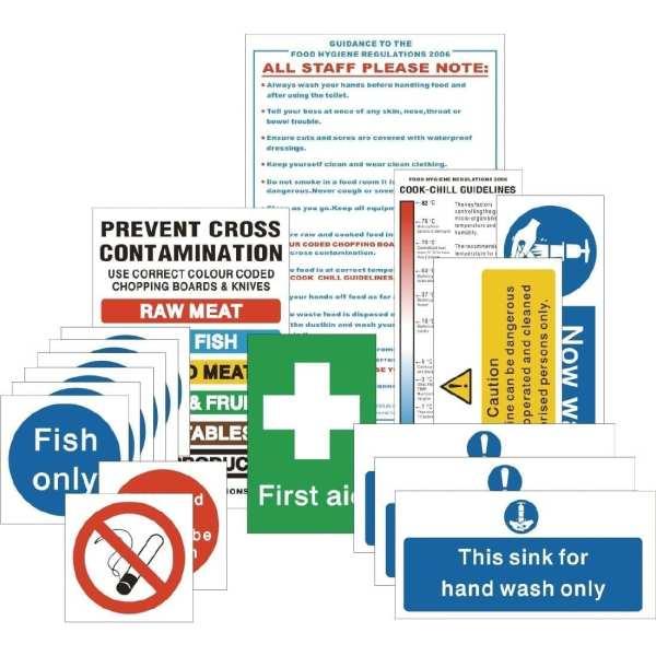 Senior Hygiene Catering Pack Signs (Pack 17) (Self-Adhesive)-0